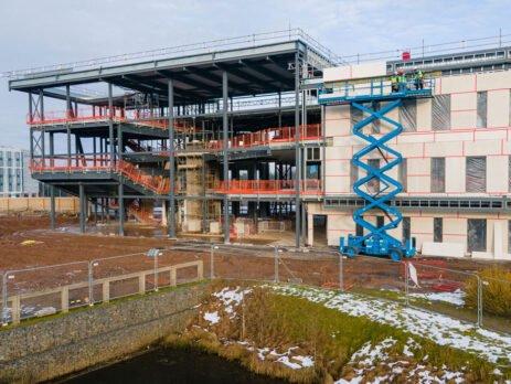 Vet School Construction